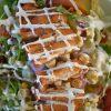 Tradicinių Cezario salotų receptas