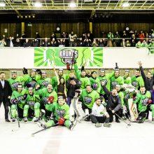 """""""Kaunas Hockey"""" ledo ritulininkai iškopė į Lietuvos čempionato finalą"""