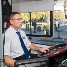 Mieste už 5 milijonus eurų važinės nauji autobusai