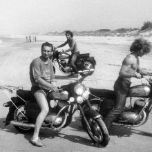 Maršrutas: vairo broliai dažnai leisdavosi į pajūrį, kur mėgaudavosi nevaržoma laisve.