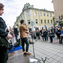 Džiazas išsiliejo į Kauno gatves