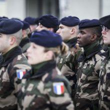 Prie Lietuvoje dislokuotų Vokietijos karių prisijungė 300 prancūzų