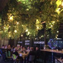 """Restoranas """"the garden"""": valgyti ir švęsti sode visus metus? Kodėl gi ne!"""