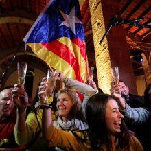 Katalonijos separatistai regiono parlamente užsitikrino absoliučią daugumą