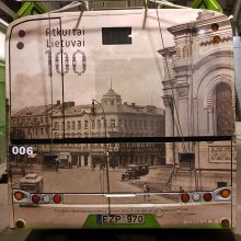 Kauno gatvėse – transporto istorijos momentai