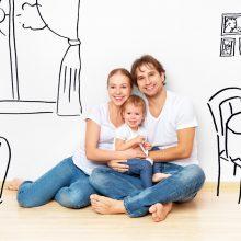 Lengvinama parama jaunoms šeimoms pirkti būstą regionuose