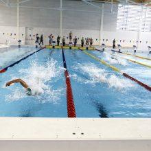 Klaipėdos baseino atidarymas – ant vandens