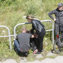 Prie upės aptiktas jaunas vyras neišgyveno