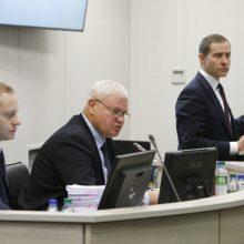 Miesto taryba pritarė A. Michailovo pasitraukimui iš posto
