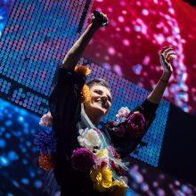 """""""Žalgirio"""" arenoje koncertavęs S. Prūsaitis: tai svajonės išsipildymas"""