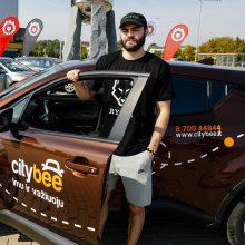 """Vilniaus """"Rytas"""" iš nuosavų automobilių persėdo į """"CityBee"""""""