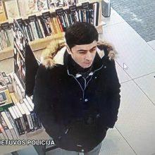 Ieškomas dėl vagystės: šis pilietis įtariamas gatvėje apvogęs senolį
