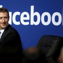 Paaiškėjo, kada M. Zuckerbergas liudys Atstovų rūmuose