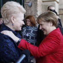 D. Grybauskaitė: Vokietija išliks svarbiausia Lietuvos partnere Europoje