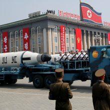 ES sutarė dėl naujų sankcijų Šiaurės Korėjai