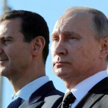 Vakarų smūgiai Sirijai: ką darys Rusija?