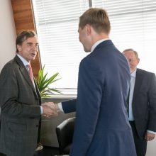 R. Šimašius: į Vilnių ateina reikšmingos investicijos iš Vokietijos