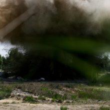 Lazdijų rajono gyventojas rado sprogmenį