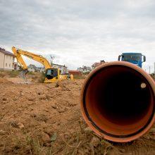 Planuojama atnaujinti nuotekų atkarpą Vilniaus Žvėryno rajone