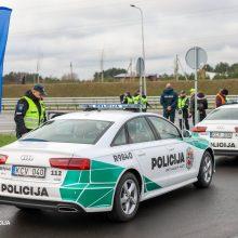 """Kelių policija ieškojo """"švarių vairuotojų"""" – ar pasisekė?"""