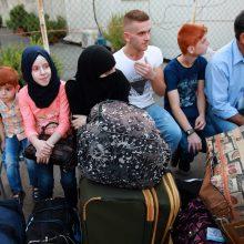 Į Lietuvą vėl perkelta 18 pabėgėlių sirų