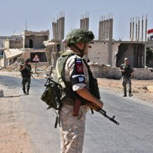 Rusija teigia Sirijoje nukovusi 88 tūkst. sukilėlių