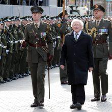 Į Lietuvą atvyksta Airijos prezidentas