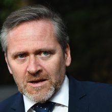 Į Lietuvą atvyksta Danijos užsienio reikalų ministras