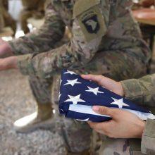 Afganistane nuo saviškio rankos žuvo JAV karys