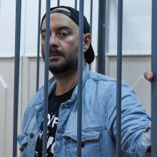 Maskvos teismas pratęsė režisieriaus K. Serebrenikovo namų areštą