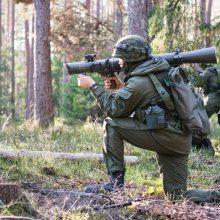 Vilniaus ir Utenos apskrityse vyks karių savanorių taktinės pratybos