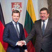 R. Karoblis: Vokietija išlieka patikima partnere saugumo ir gynybos srityje