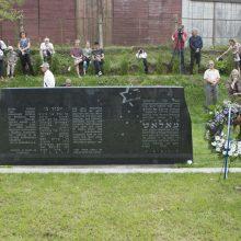 Prie masinių žydų kapaviečių siūloma skelbti ir aukų, ir budelių pavardes