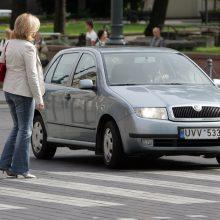 Tikrai bloga situacija: keliuose nesaugios dauguma pėsčiųjų perėjų