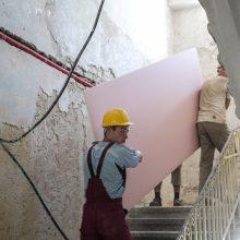 Inspektoriai šokiruoti: į pavojingus statybų darbus įkinkyti nepilnamečiai