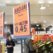 Premjeras: kalbėti apie kainų reguliavimą nėra prasmės