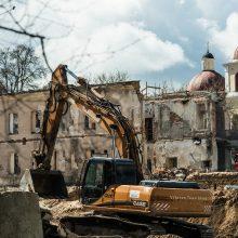Teismas leido tęsti daugiabučių statybas prie Misionierių vienuolyno