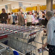 Profsąjungos nori, kad prekybos centrai nedirbtų per visas šventes