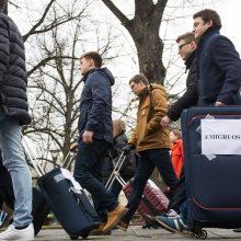 Vasario mėnesį į Lietuvą atvyko daugiau žmonių nei išvyko