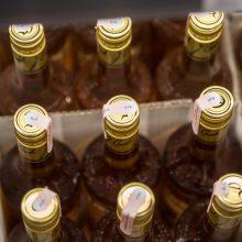 Alkoholio akcizų pajamos šiemet kiek išaugo