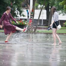 Šilumos užteks, bet lietaus neišvengsime
