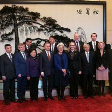 Seimo pirmininkas susitiks su Kinijos prezidentu