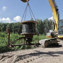 Prasidėjo Karoliniškių lietaus nuotekų valymo rekonstrukcija