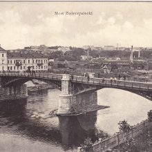 Vilniaus centriniame pašte – tiltų per Nerį istorija