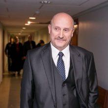 Iš vyriausiojo patarėjo Ginklų fonde pareigų traukiasi G. Mišeikis