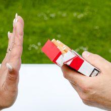 Paruošė planą, kaip ruošiasi mažinti alkoholio ir tabako vartojimą