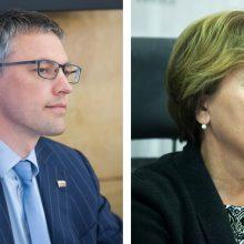 """""""MG Baltic"""" prašo nušalinti nuo tyrimo V. Baką ir R. Juknevičienę"""