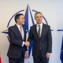Seimas pritarė Šiaurės Makedonijos prisijungimui prie NATO