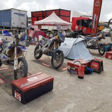 B. Bardauskas penktąjį Dakaro ralio etapą prisimins kaip akmenų košmarą