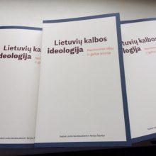 """Ideologiniai """"Lietuvių kalbos ideologijos"""" pagrindai <span style=color:red;>(recenzija)</span>"""